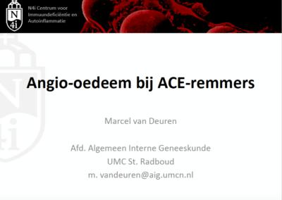 Angio-oedeem bij ACE-remmers