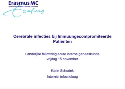 Cerebrale infecties bij Immuungecompromiteerde Patiënten