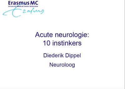 Acute neurologie: 10 instinkers