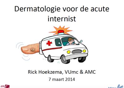 Dermatologie voor de acute internist